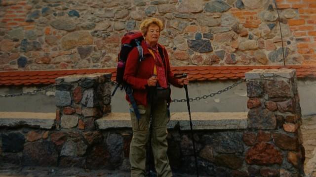 Pilgerin Martina Lang aus Deining, ging den Jakobsweg