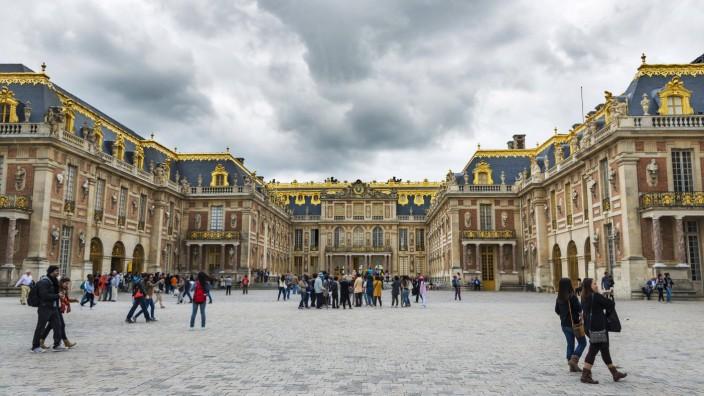 Schloss Versailles Departement Yvelines Region Île de France Frankreich Europa Copyright imageB