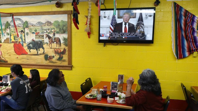 Border Wall Funding Continues To Be Divisive Issue Prolonging Government Shutdown