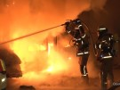Berlin-Neukölln: Neun Ordnungsamt-Fahrzeuge in Brand (Vorschaubild)