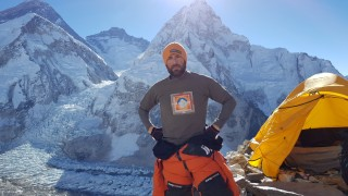 Extremsport Bergsport