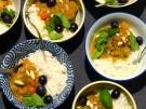 Rezept Thai Curry Massaman Eintopf Suesskartoffeln Kuerbis Trauben Mandeln Haehn