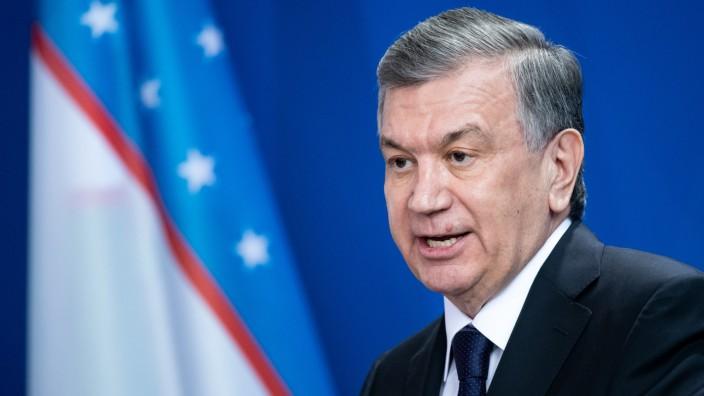 Usbekischer Präsident besucht Deutschland