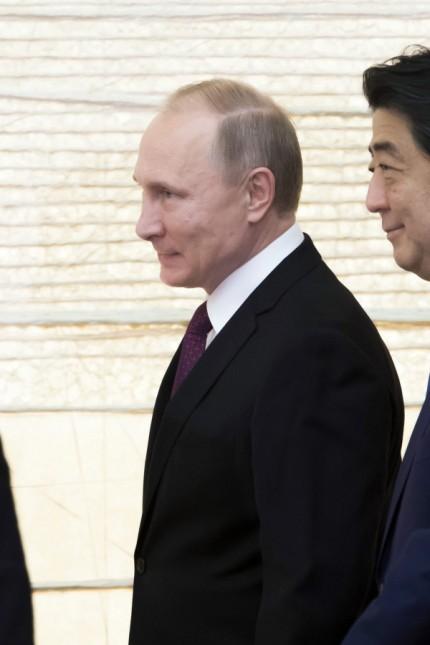 Russian President Vladimir Putin visits Japan