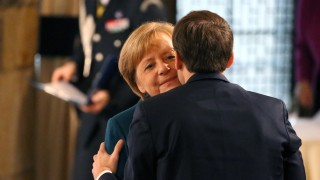 Deutsch-Französischer Freundschaftsvertrag Merkel Macron