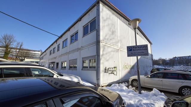 Parkhaus Barlgarage Berufsschule Gymnasium