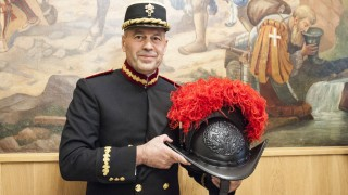 NO FRANCE NO SWITZERLAND May 04 2018 Christoph Graf Commander of the Pontifical Swiss Guards