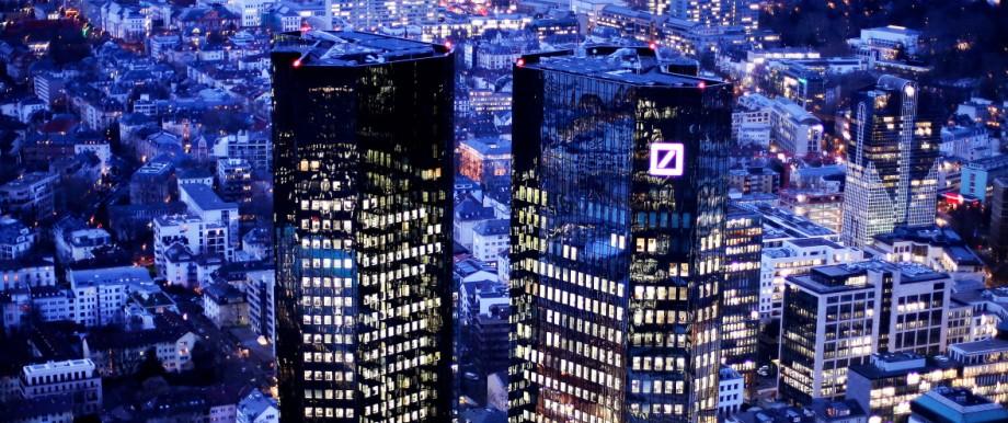 Banken und Finanzindustrie Deutsche Bank