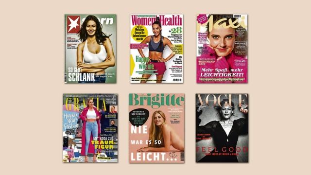 Journalismus Frauenzeitschriften