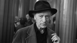 Portrait of Jonas Mekas at Paris le 28 avril 1997 AUFNAHMEDATUM GESCHÄTZT PUBLICATIONxINxGERxSUIx