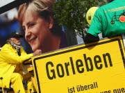 Gorleben, Merkel, Getty