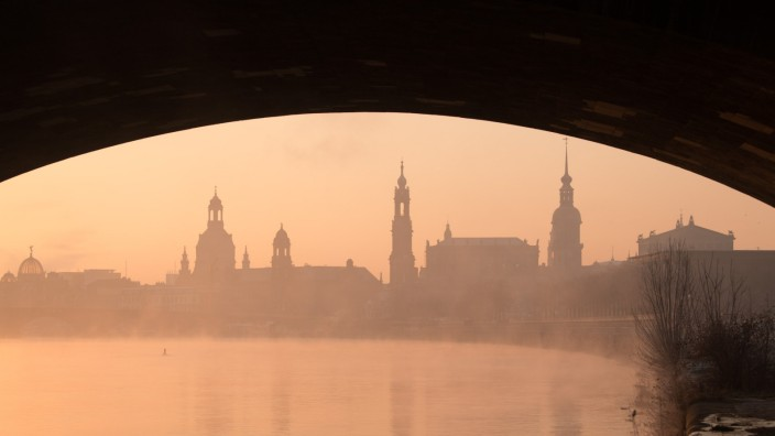 Morgenstimmung in Dresden