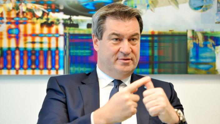 Markus Söder CSU Parteivorsitzender im Interview