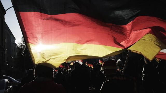 """Demonstration des Bündnisses ´Wir für Deutschland"""""""