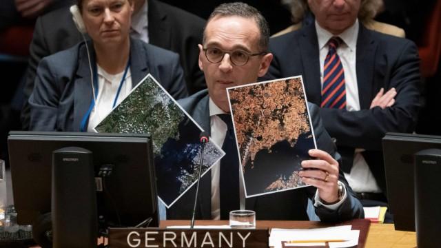 UN-Sicherheitsrat Maas bei den UN