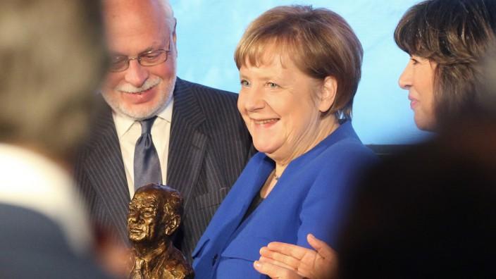 Merkel erhält amerikanischen Fulbright-Preis