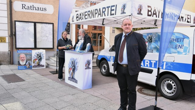 Infostand Bayernpartei
