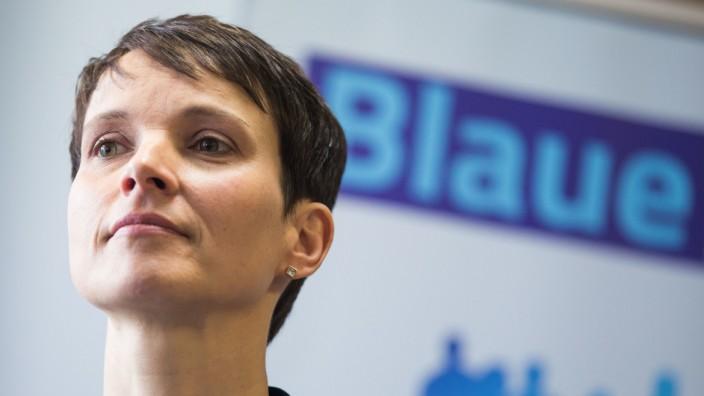 Frauke Petry Blaue Partei