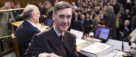 Brexit-Hardliner Jacob Rees-Mogg 2019 in London