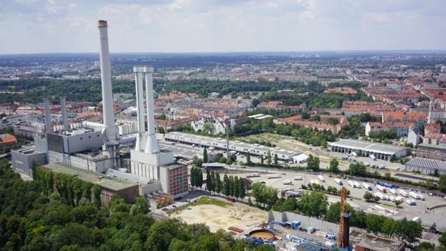 Süddeutsche Zeitung München Pro: Kamin am Heizkraftwerk Süd
