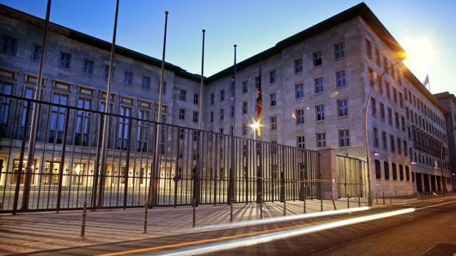 Bundesministerium der Finanzen Berlin Deutschland Federal Ministry Finance of Germany Berlin