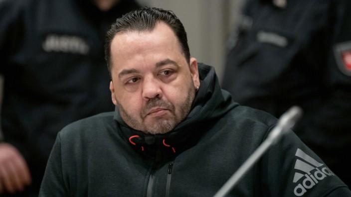 Niels Högel 2019 beim Prozess in Oldenburg