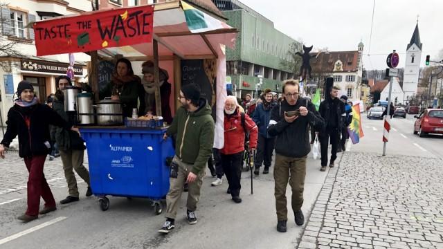 Fürstenfeldbruck Prozess wegen Containerns
