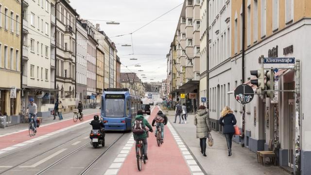 Verkehr in München Fahrradverkehr