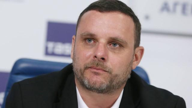 MOSCOW RUSSIA AUGUST 22 2016 Manuel Ochsenreiter director of the German Center for Eurasian St