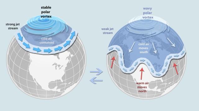 Meteorologie Arktische Kälte in den USA