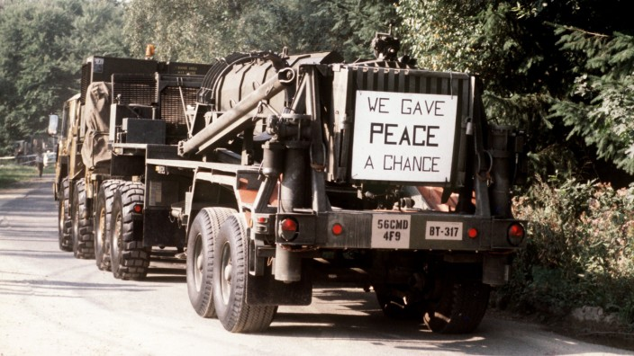 Pershing-Abrüstung der USA in der Bundesrepublik