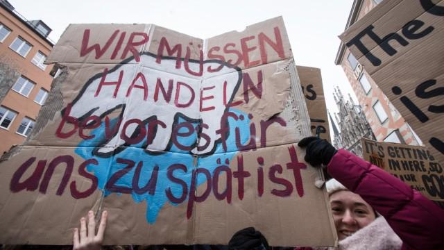 Fridays for Future - Schülerdemonstration für den Kohleausstieg in München, 2019