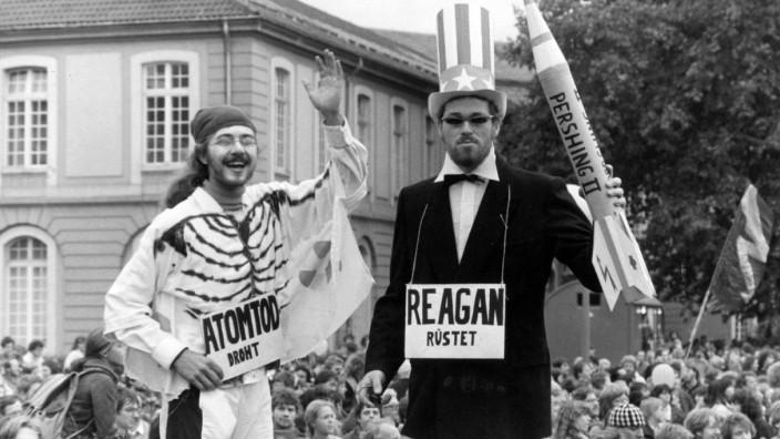 Antiamerikanische Demonstration, 1981
