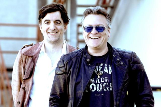 """Band Dominoe Robert Papst und Jörg Sieber, Album """"The lost Radio Show"""""""