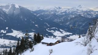 Lawinenübung für Bergwacht-Anwärter am Brauneck