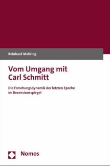 Prof. Dr. Reinhard Mehring: Vom Umgang mit Carl Schmitt