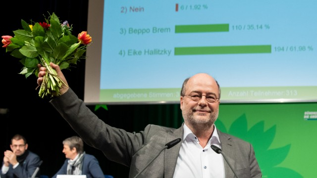 Abschluss Landesparteitag Grüne Bayern