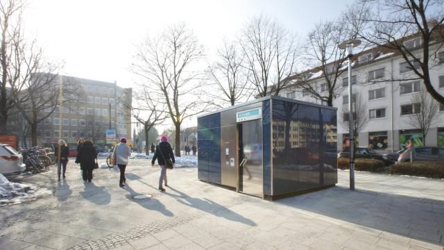 Toilettenanlage am Partnachplatz