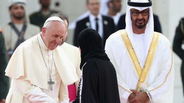 Papst Franziskus besucht Abu Dhabi 2019