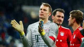 Bundesliga - Bayern-Keeper Manuel Neuer nach dem Spiel gegen Hoffenheim