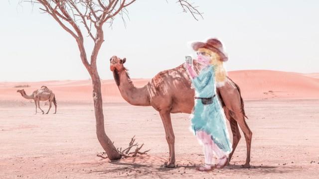 Tourismus Urlaub mit sich selbst