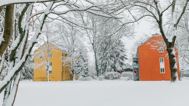 Siedlung Ludwigsfeld am 10. Januar 2019.
