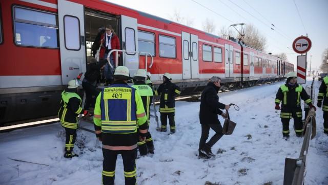 Unfall am Bahnübergang