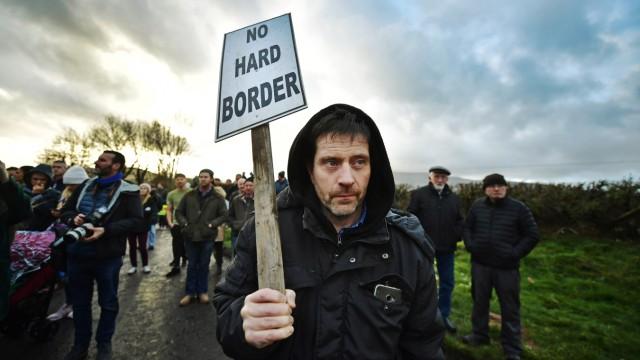 ***BESTPIX*** Brexit Protest At Irish Border