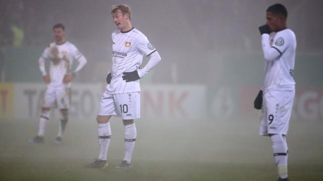 DFB Cup - Third Round - FC Heidenheim v Bayer Leverkusen