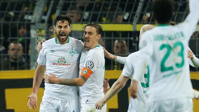 DFB Cup - Third Round - Borussia Dortmund v Werder Bremen