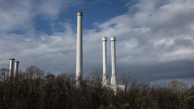 Heizkraftwerk Süd in München, 2019