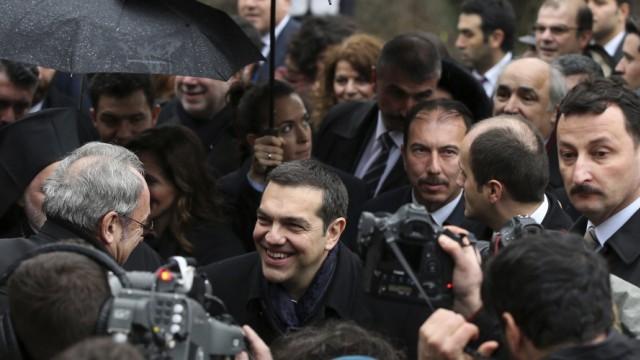 Ministerpräsident von Griechenland besucht Türkei