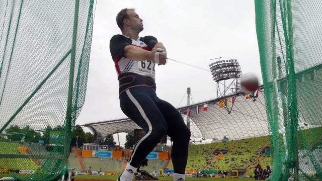 Leichtathletik EM Hammerwerfen Kobs