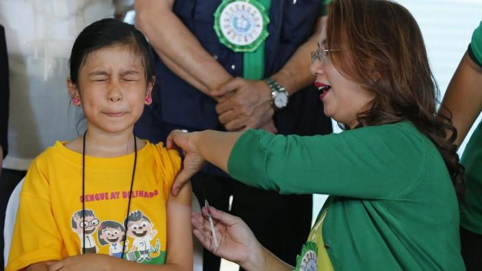 Impfung gegen Denguefieber auf Philippinen